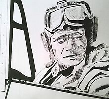 Fighter pilot by Michael Birchmore