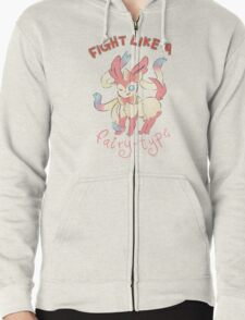 Fight Like a Fairy-Type T-Shirt