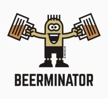 Beerminator (Drinking Beer) by MrFaulbaum