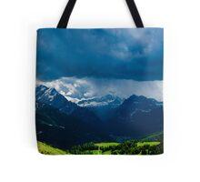 Green Storm Tote Bag