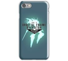 Orbital Frame Operator iPhone Case/Skin