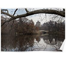 Bows and Arches - New York City Central Park Poster
