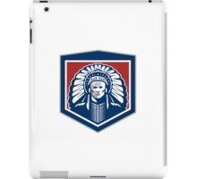 Native American Chief Shield Retro iPad Case/Skin