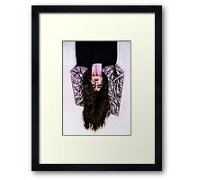You've been holding on too long Framed Print