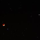 Lunar Eclipse and Mars (April 15, 2014) by Daniel Owens