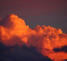Cloudscape sunset by pantsman