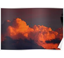 Cloudscape sunset Poster