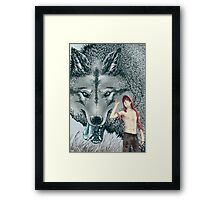 : RED : Framed Print