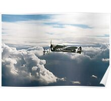 Hawker Typhoons Poster