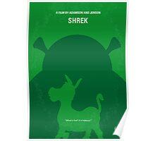 No280 My SHREK minimal movie poster Poster
