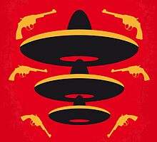 No285 My Three Amigos minimal movie poster by Chungkong