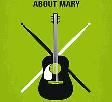 No286 My There's Something About Mary minimal movie poster by Chungkong