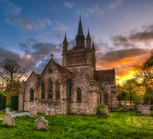 St Mildreds Sunset by manateevoyager