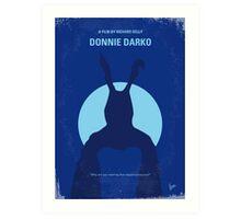 No295 My Donnie Darko minimal movie poster Art Print