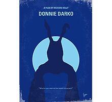 No295 My Donnie Darko minimal movie poster Photographic Print
