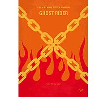 No296 My GHOST RIDER minimal movie poster Photographic Print