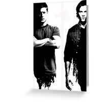 Winchesters 2 Greeting Card