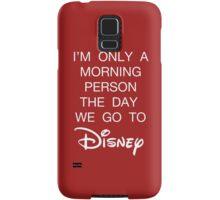 Disney Morning Person Samsung Galaxy Case/Skin
