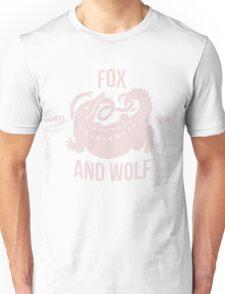 FOX AND WOLF - WRESTLE Unisex T-Shirt