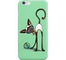 Simaese Cat | Yarn Thief iPhone Case/Skin