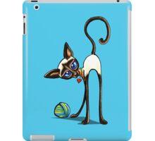 Simaese Cat | Yarn Thief iPad Case/Skin