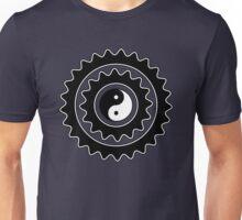 Bike Cycling Bicycle Sprocket Yin Yang Unisex T-Shirt