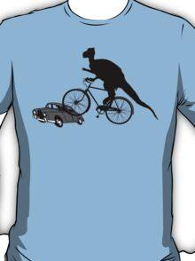 Bike Cycling Bicycle Dinosaur T-Shirt