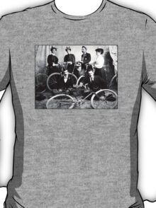 Bike Cycling Members Of The Chinook Bicycle Club T-Shirt