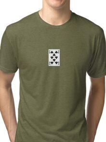 8 of Clubs Tri-blend T-Shirt