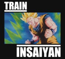 Dragon ball Z Train Insaiyan Goku by frangiosa