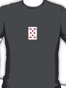 8 of hearts T-Shirt