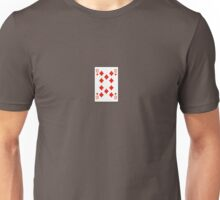 10 of diamonds Unisex T-Shirt