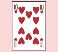 10 of hearts Kids Tee