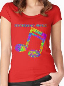 Psychedelic Rock 4 Women's Fitted Scoop T-Shirt