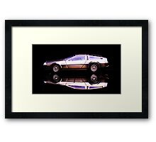 The Delorean Framed Print