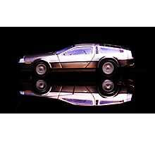 The Delorean Photographic Print