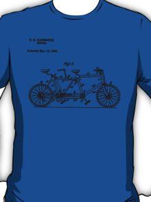 Bike Bicycle Tandem Bike Conversion Kit 1984 T-Shirt