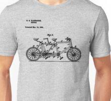 Bike Bicycle Tandem Bike Conversion Kit 1984 Unisex T-Shirt