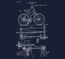 Bike Chainless Drive Bicycle 1891 Stillman by SportsT-Shirts