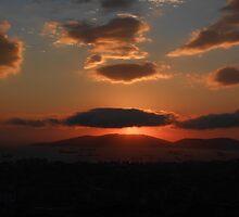 Sunset in Istanbul by rasim1