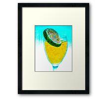 Lime Holiday Framed Print