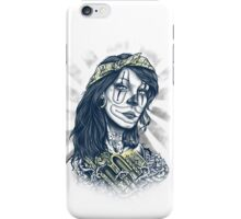 Clown angel iPhone Case/Skin