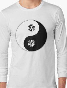 Kakashi Obito yin and yang Long Sleeve T-Shirt