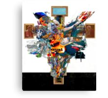 the femen crucifix.png Canvas Print