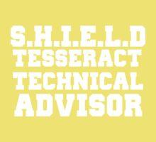 S.H.I.E.L.D Tesseract Technical Advisor Kids Clothes