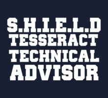 S.H.I.E.L.D Tesseract Technical Advisor by Harry James Grout