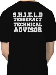 S.H.I.E.L.D Tesseract Technical Advisor Classic T-Shirt