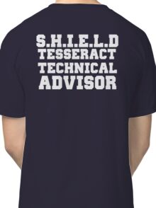 S.H.I.E.L.D Tesseract Technical Advisor Classic T-Shirt