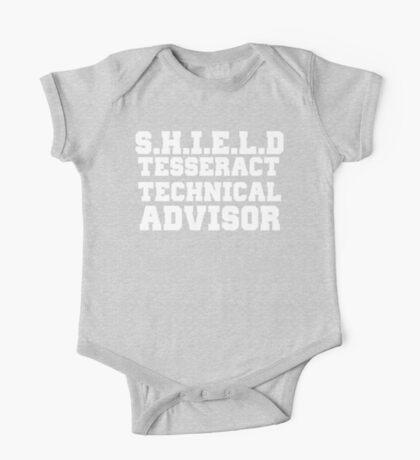 S.H.I.E.L.D Tesseract Technical Advisor One Piece - Short Sleeve