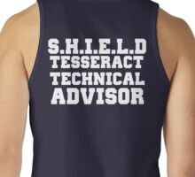 S.H.I.E.L.D Tesseract Technical Advisor Tank Top